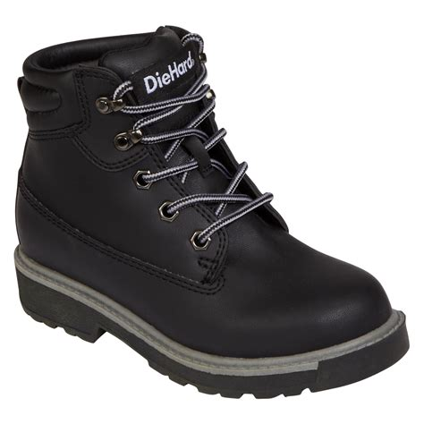 diehard boots review diehard boys black boot style and a lot of comfort from sears