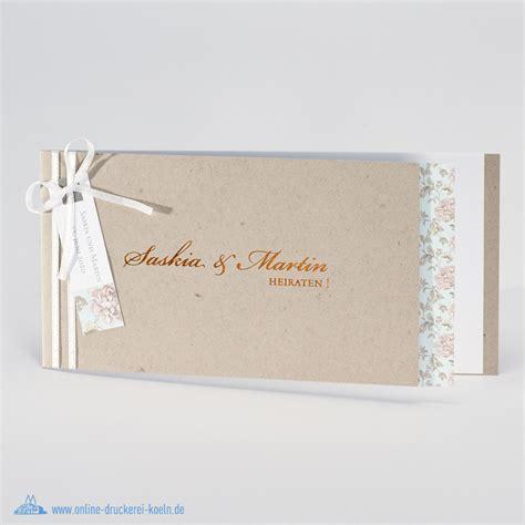 Hochzeitseinladung Einleger 214 kologische hochzeitseinladung mit blumen einleger