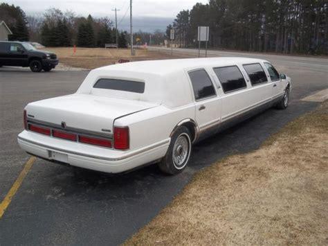 limousine town car 1997 lincoln town car limousine