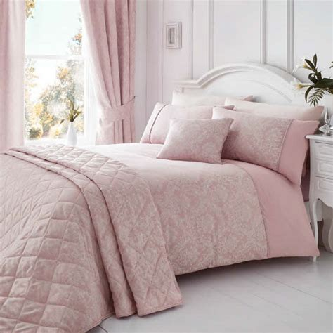 laurent soft pink duvet covers sets uk