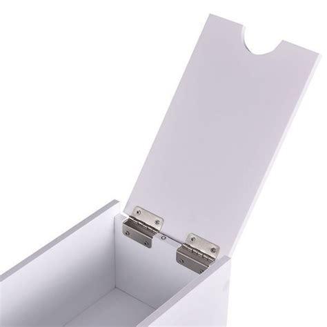 costway narrow wood floor bathroom storage cabinet holder