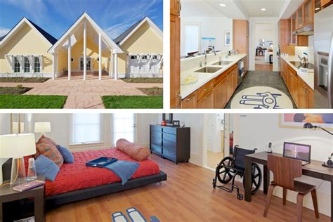 disabled housing innovative housing puts universal design to work for disabled vets