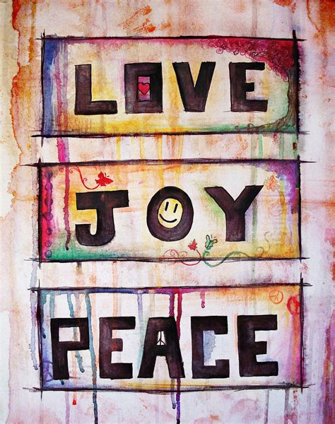 images of love joy and peace love joy peace watercolor by jesserayus on deviantart