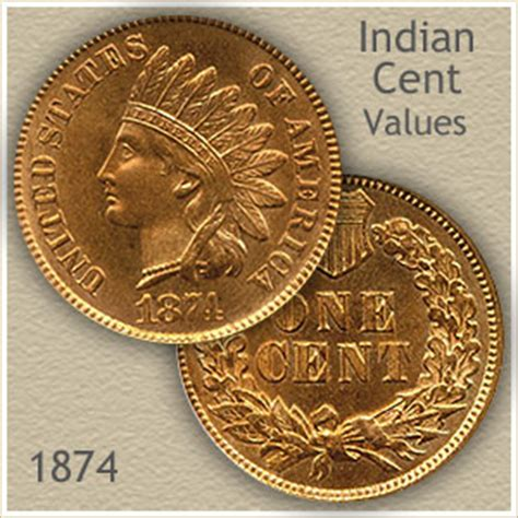 1874 indian head penny value | discover their worth