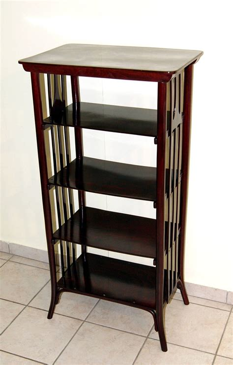 thonet nouveau vienna etag 232 re or bookshelf circa 1905 - Etagere Jugendstil