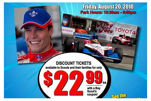 indycar coupon code