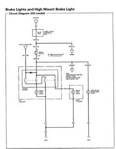 2002 Honda Civic Brake System Diagram No Brake Lights No Horn No Cruise Honda