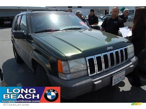 1996 forest green pearlcoat jeep grand laredo 29957321 gtcarlot car color