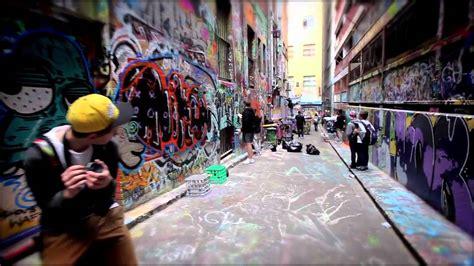 Wall Murals Graffiti writers bench the evolution of melbourne s graffiti