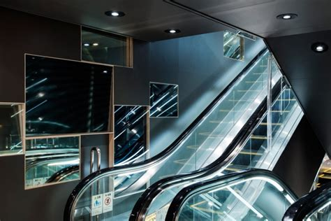 designboom naruse world of illusion underground passageway by naruse inokuma