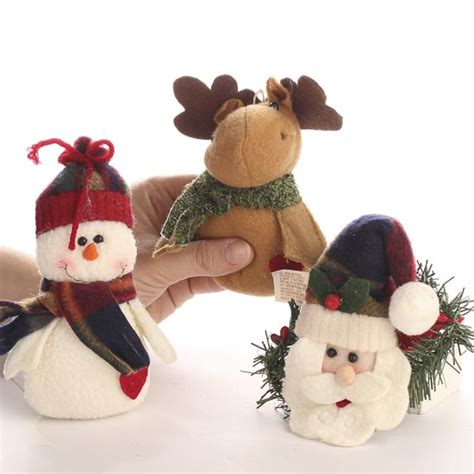 plush christmas ornament christmas ornaments christmas