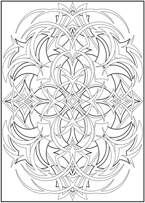 abstract designs coloring book and more for senior adults books abstract design 1 color pages