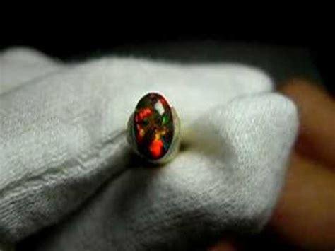 3 1 Ct Black Opal Hq s琉璃仙境 珠寶級吉爾森黑蛋白石 0 3760 ct