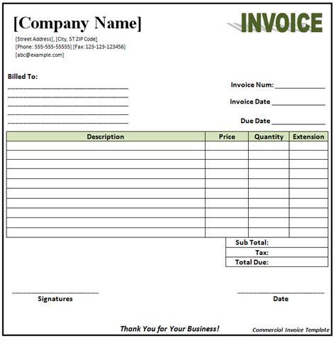 free blank invoice template microsoft word | example good resume, Invoice templates