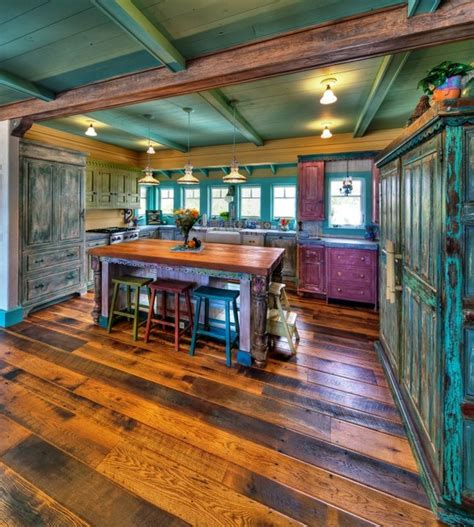 western style kitchen cabinets rustic kitchens that draw inspiration magazine