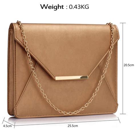Flap Clutch lse00307 gold flap clutch purse