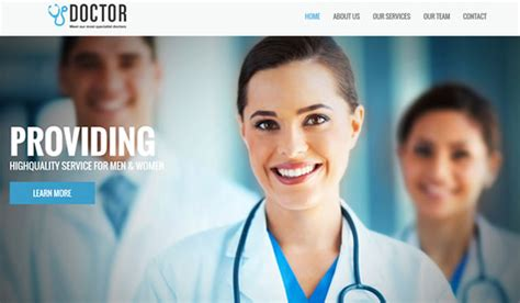 bootstrap templates for doctors 25 free twitter bootstrap templates web design beat