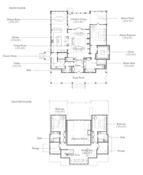 palmetto bluff floor plan for the home