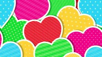 colorful hearts colorful hearts wallpapers wallpaper cave