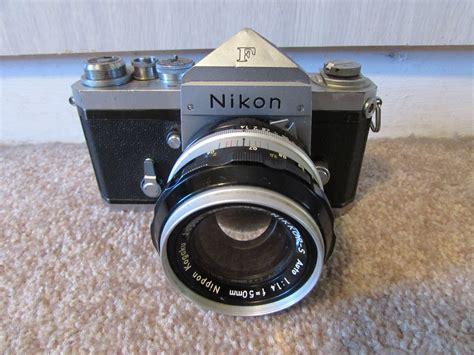 nikon f nikon f with original cloth type shutter