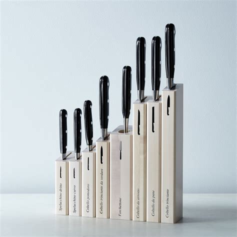 italian kitchen knives berti black handled italian kitchen knives on food52