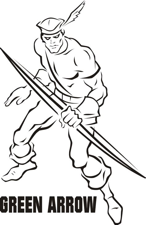 Green Arrow Coloring Pages green arrow coloring pages car interior design