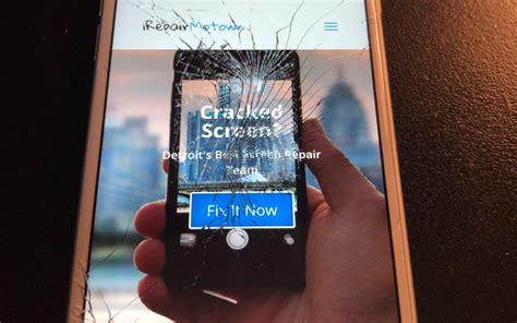 iphone repair near me detroit mi detroit s best cracked iphone repair team