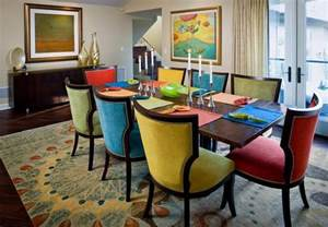 Colored Dining Room Chairs Colorful Dining Chairs Dining Room Chairs Rugs And Awesome