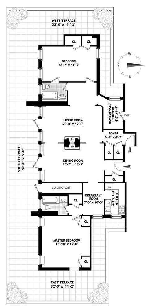 new york apartment floor plan 202 best images about apartment floor plans on pinterest