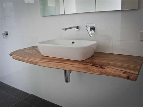 Wood Top Bathroom Vanity Timber Vanity Tops Mirrors And Baths Sydney Time 4 Timber