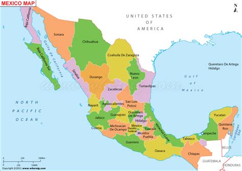 political map mexico is mexico safe a state by state assessment hello df