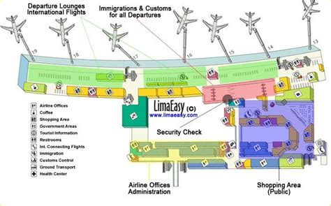 Airport Terminal Floor Plans by The Lima International Airport Jorge Ch 225 Vez Limaeasy