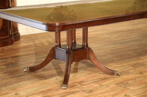custom made dining room tables custom american made mahogany dining room table