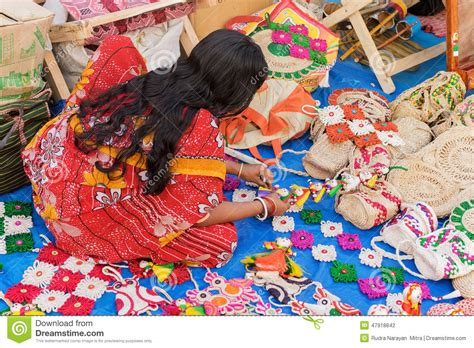 Handmade Handicrafts - handmade jute dolls indian handicrafts fair at kolkata