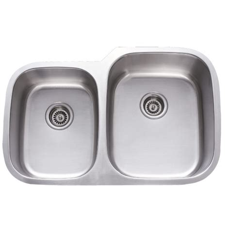undermount kitchen sinks stainless steel 31 inch stainless steel undermount 40 60 double bowl kitchen sink 18 gauge