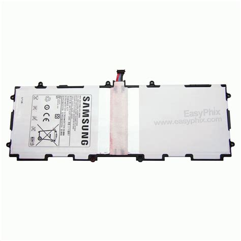 battery for samsung galaxy tab 2 10 1 p5100 p5110 n8000