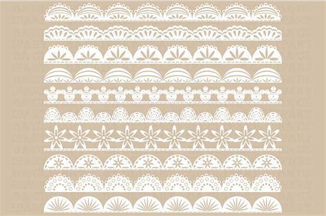 lace border clip lace border clipart illustrations creative market