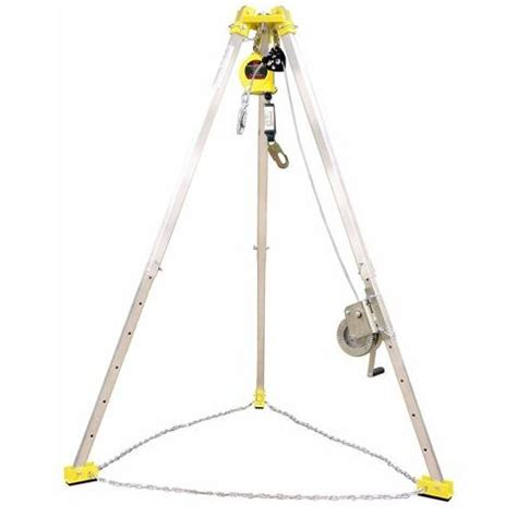 Tripod Rescue frenchcreek confined space rescue system bundle with mw50g winch tp7 tripod rl25agz retracting