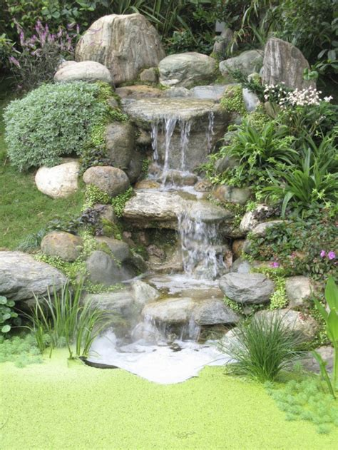 Garten Wasserfall wasserfall im garten selber bauen 99 ideen wie sie die