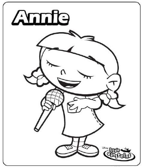 dibujos para colorear de little einsteins adisney dibujos para colorear de little einstein imagui