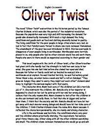 Oliver Twist Essay Topics by Essay On Oliver Twist