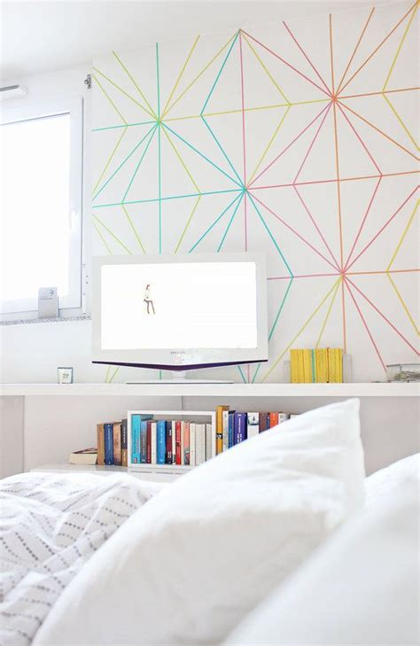 washi tape bedroom how to style up your home 50 washi tape ideas