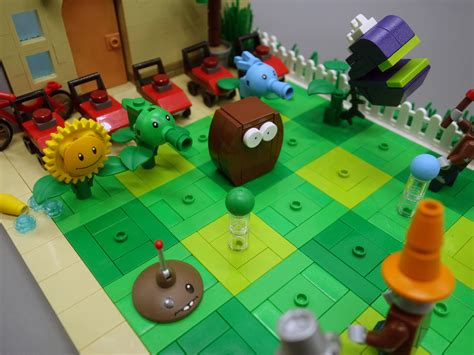 lego ideas product ideas plants  zombies