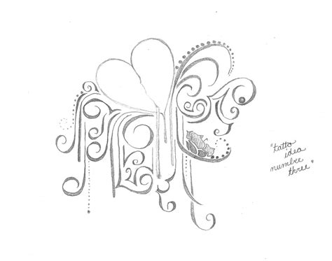 flower and heart tattoo designs bleeding drawing