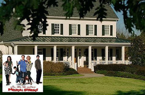 the white clapboard house from quot parental guidance