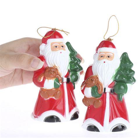 vintage inspired santa ornaments christmas and holiday