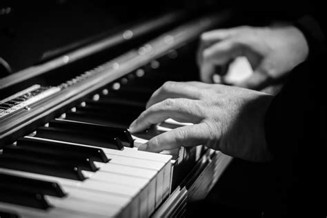 Free Images Hand Black And White Technology Piano