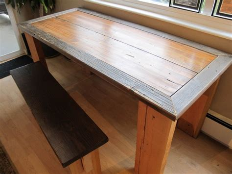 Reclaimed Farm Table From Rydawell Woodworks Dining Reclaimed Wood Dining Table Seattle