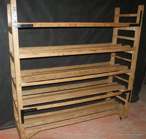 Bakers Rack Antique by Pine Bakers Rack Antique Shelves Racks