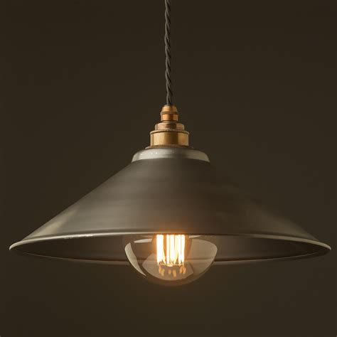 Pendant Light Shades Rustic Steel Light Shade 310mm Pendant